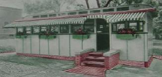 Mulholland diner drawing